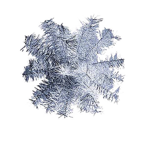 Шар-снежинка Yes! Fun большой (мишура) d-60                                               , фото 2