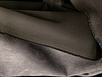 Замш серый плотный , как настоящая кожа
