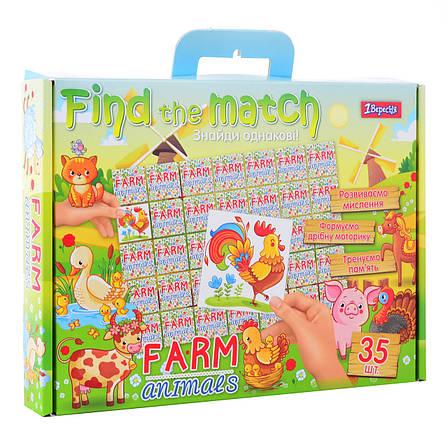 """Набор для творчества """"Find the match"""" """"Farm Animals""""                                      , фото 2"""