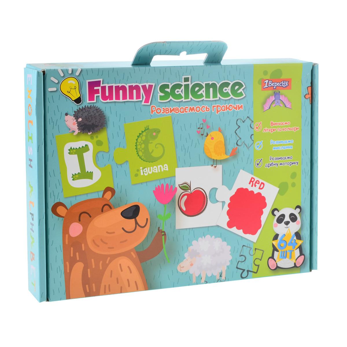 "Набор для творчества ""Funny science"" ""Английский алфавит 2"""