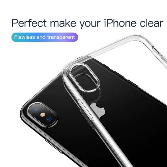 Силиконовый чехол Baseus Simplicity для iPhone XS Max
