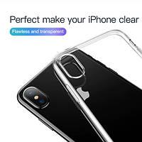 Силиконовый чехол Baseus Simplicity для iPhone XS Max, фото 1