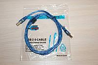 Кабель для Принтера USB 1.5 метра Silicon, фото 1