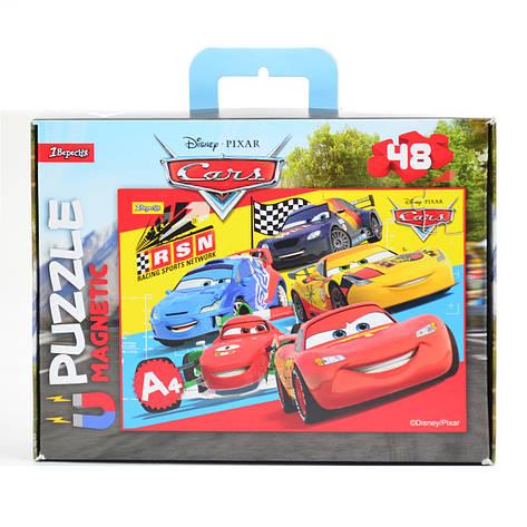 """Пазл магнитный А4 """"Cars 1""""                                                                , фото 2"""