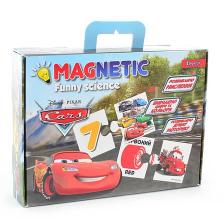 """Пазл магнитный развивающий А4 """"Funny science"""" """"Cars""""                                      , фото 2"""