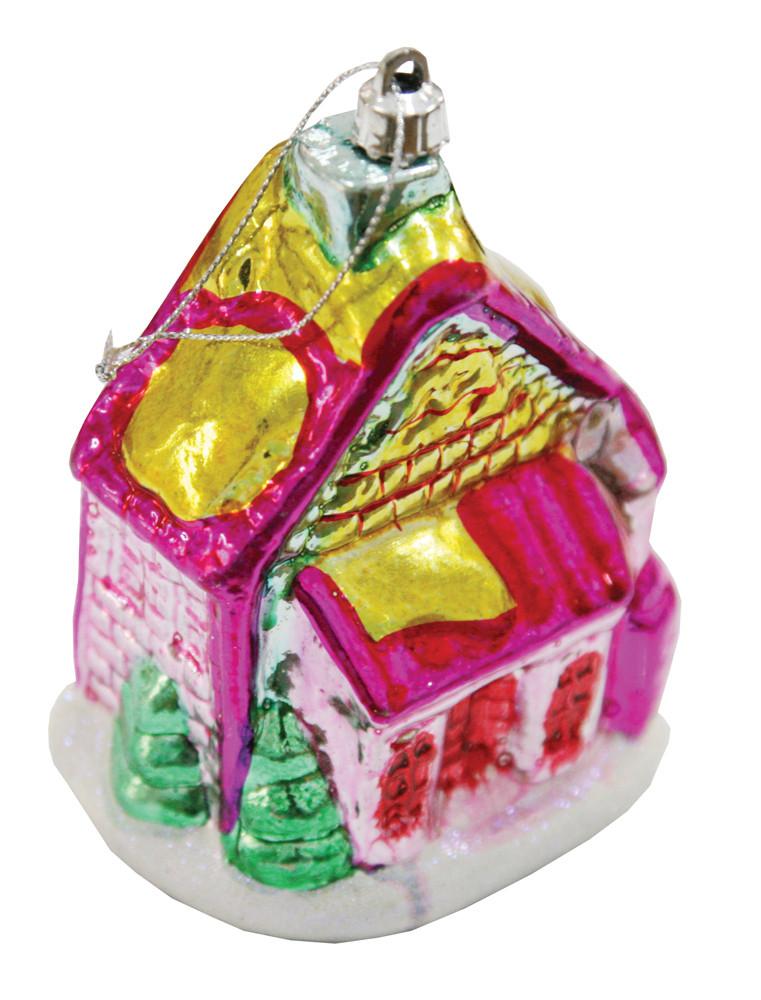 Будиночок Yes! Fun 10*9*6 см рожево-зелений