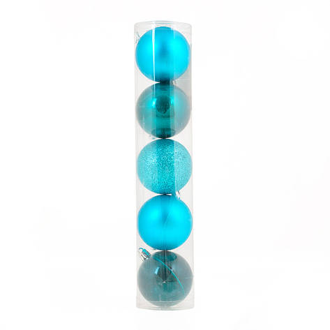 Шар Yes! Fun d-6 cм 5 шт/уп, светло-голубой                                               , фото 2