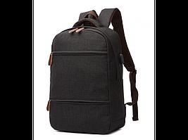 Черный мужской рюкзак Tiding Bag 1032A