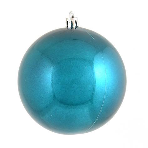 Шар Yes! Fun d - 10 см, голубой перламутр                                                 , фото 2