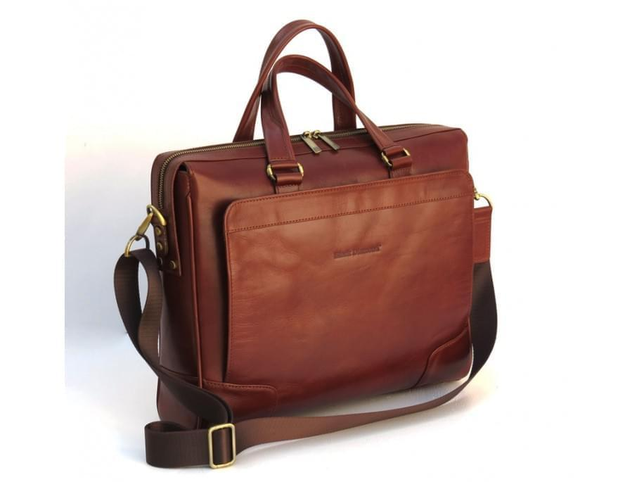 Мужская кожаная сумка Blaсk Diamond BD10C