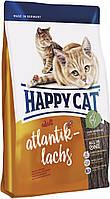 Happy Cat Supreme Atlantik-Lachs с лососем, 4 кг