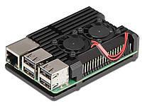 Радиатор охлаждения для мини-компьютера Raspberry Pi 3 B С вентиляторами