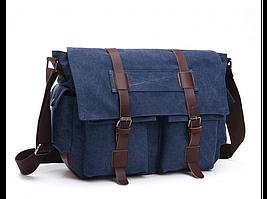 Синяя мужская сумка Tiding Bag 8168BL
