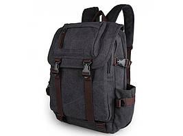 Черный мужской рюкзак Tiding Bag 9023A