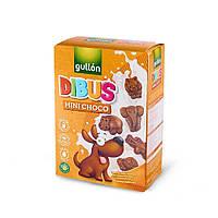 Печенье мини-фигурки животных без  лактозы, орехов и яиц Dibus  Gullon 250г  Испания