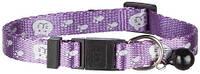 4173 Trixie Нашийник для кішки з відбивачем, фіолетовий