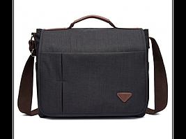 Черная мужская сумка Tiding Bag 1055A