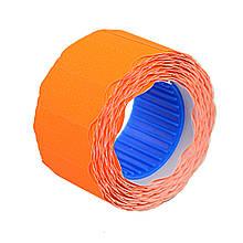 Цінник Datum флюо TCBL2612X 6,00 м, овал 500шт/рол (оранж.)