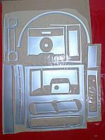 Декор салона под алюминий Volkswagen CRAFTER (18д)