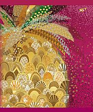 А5/96 кл. YES мат. ламинация+фольга золото+глиттер золото Opium, тетрадь                  , фото 3
