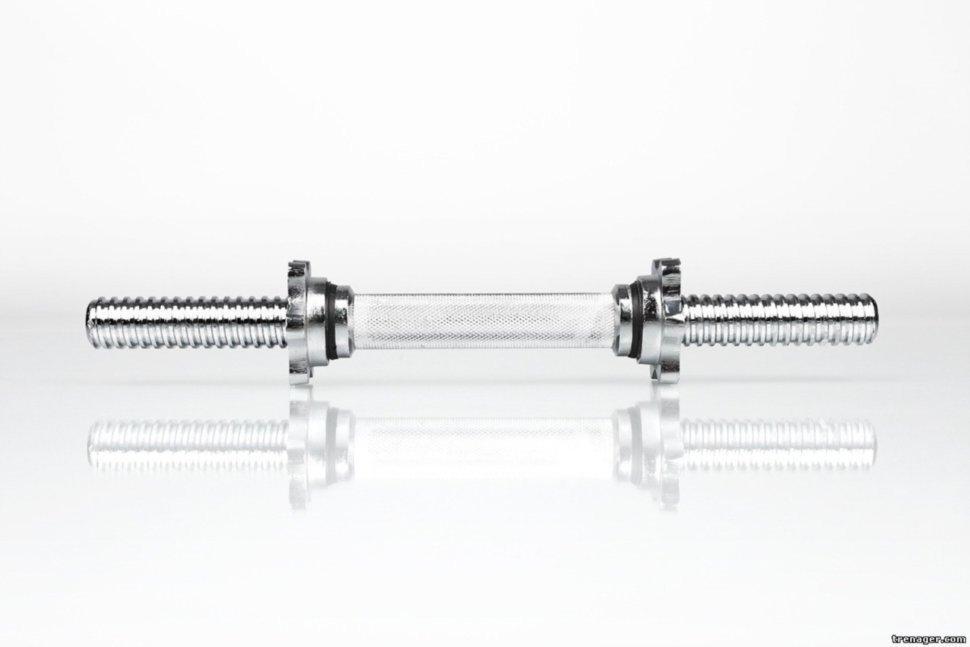 Гриф гантельный 40 см - 25 мм