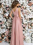 Платье в греческом стиле из шелка в пол, 00050 (Розовый), Размер 46 (L), фото 6