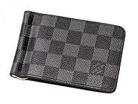 Кожаный зажим Louis Vuitton LV-7006, фото 1