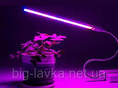 Настольный фитосветильник для роста растений USB
