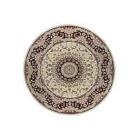 Ковер RoyalEsfahan-1.5 2194B cream red 150*150 круглый