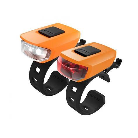Мигалка KLS VEGA USB набір помаранчевий, фото 2