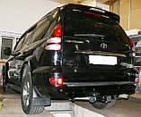 Фаркоп Toyota Land Cruiser Prado моделі j120 з установкою! Київ, фото 4