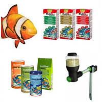 Рыба, корм, аксессуары