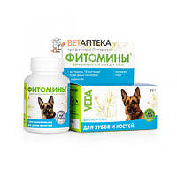 Фитомины для зубов и костей собак № 100 Веда