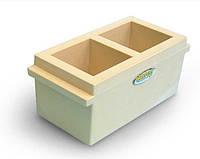 Формы куба для бетона C232N пластиковые