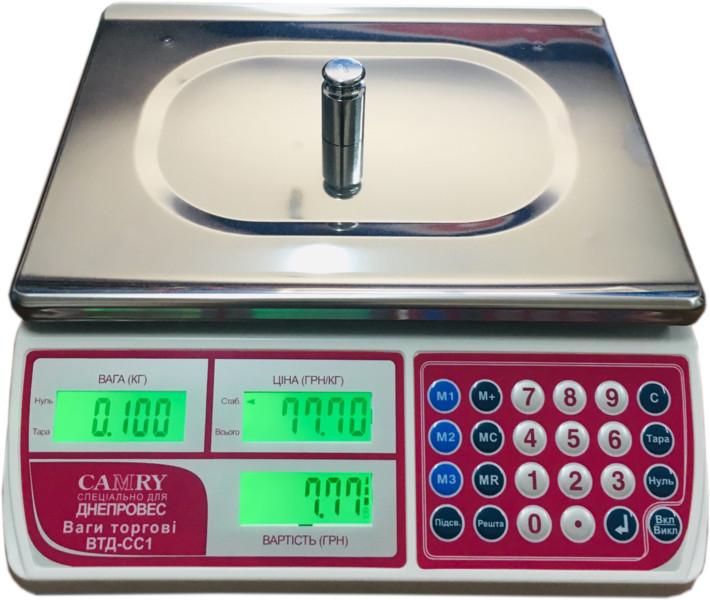 Весы торговые Camry ВТД 30 СС1