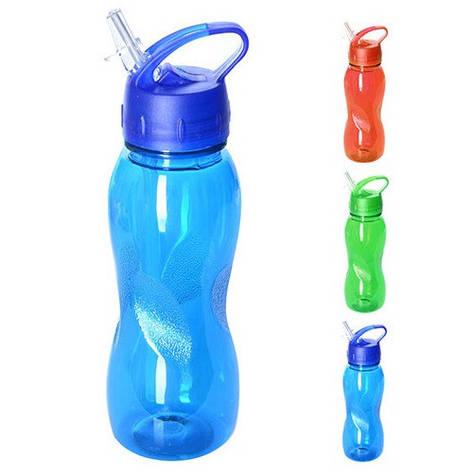 Бутылка-поилка спортивная 500мл пластик, фото 2