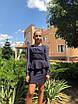 Платье школьноеподросток с баской шифон рукав мадонна 146,152,158, фото 3