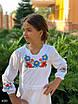 Платье вышиванка школьноеткань рубашка 122,128,134,140, фото 4
