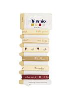 Набор репсовых лент (6шт) Artemio 100см Молочный, Золотой, Бордовый