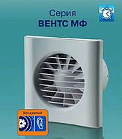 Бесшумный вентилятор вентс 100 МФТ с таймером