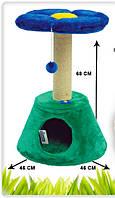 Дряпка для кота «Клумба» (68см х 46см)
