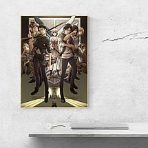 """Постер """"Атака На Титанов, постер 3 сезона"""". Attack on Titans. Размер 60x44см (A2). Глянцевая бумага, фото 3"""