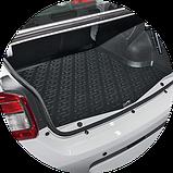 Коврик багажника (корыто)-полиуретановый, черный Toyota Camry xv55 (Тойота Камри 55 кузов 2014г+), фото 5