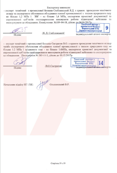 Сертификат на газовый комплект GasPower GasPower KMS-3