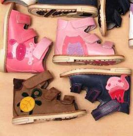 Детские босоножки, сандалии (ортопедические, профилактические, повседневные)
