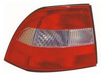 Фонарь задний правый Opel Vectra B (дорестайл, седан, хэтчбек) 1995 - 1999 красно-белый, (Depo, 442-1907R-UE) OE 6223160 - шт.
