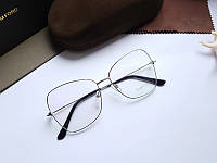 Модная брендовая оправа- очки Tom Ford TF 5946B  в тонком металле