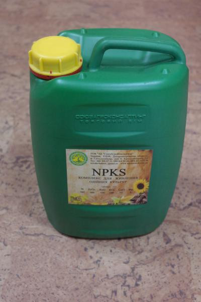Комплекс для питания масличных культур NPКS, канистра 10 л