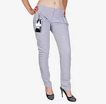 Серые х/б брюки сборка (W1243) | 3 шт., фото 3