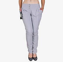 Серые х/б брюки сборка (W1243) | 3 шт., фото 2